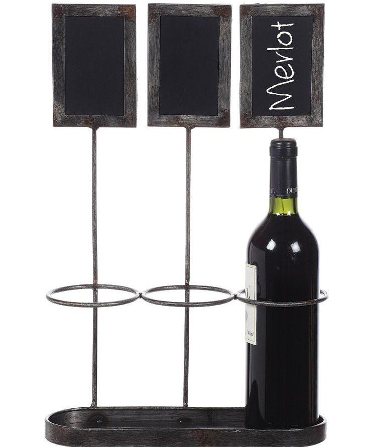 Bottle Holder w/ Chalkboards
