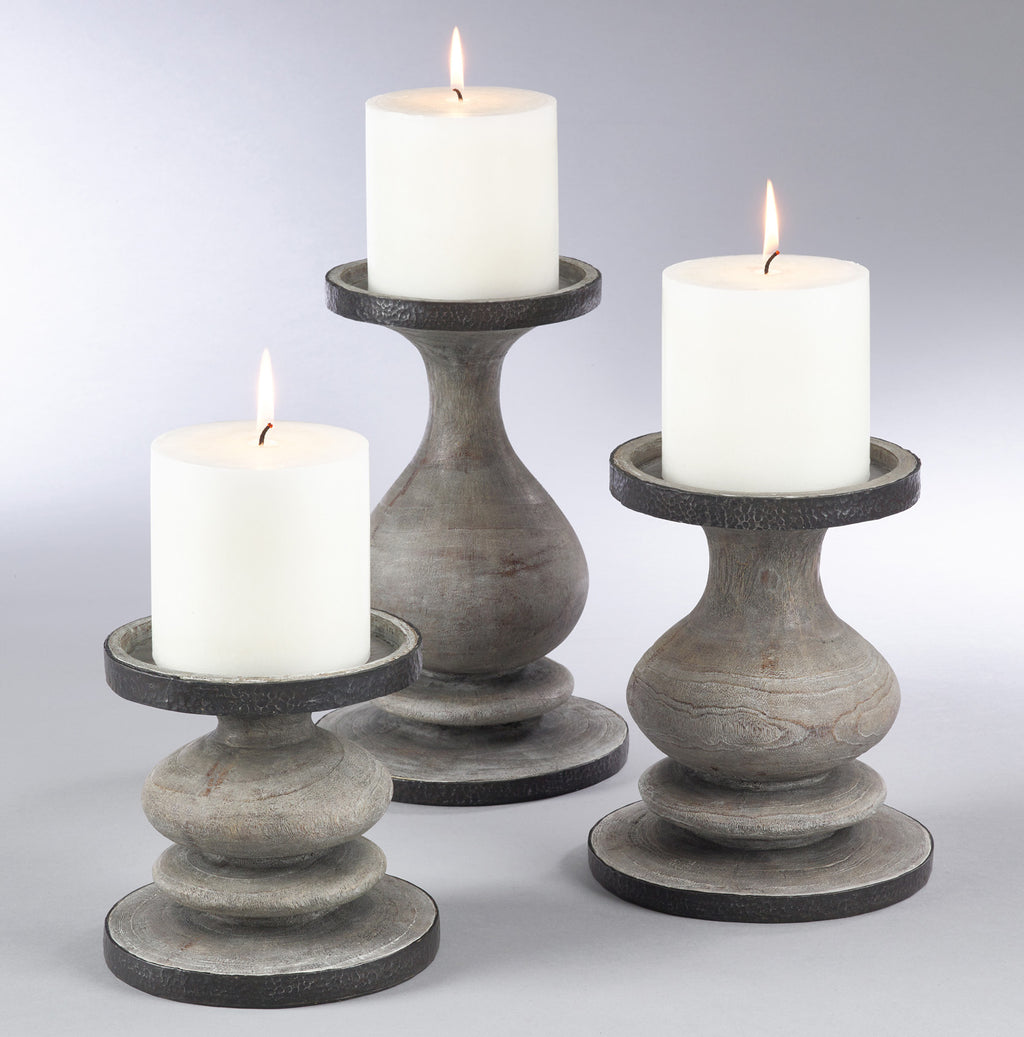 Weathered Candle Holder