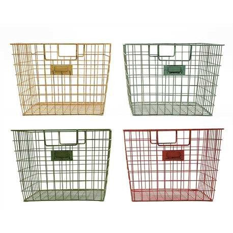 Wire Locker Basket