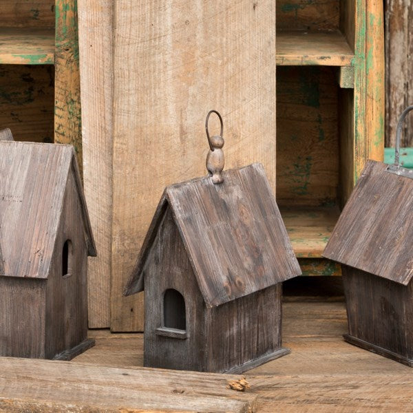 Rustic Wood Birdhouse
