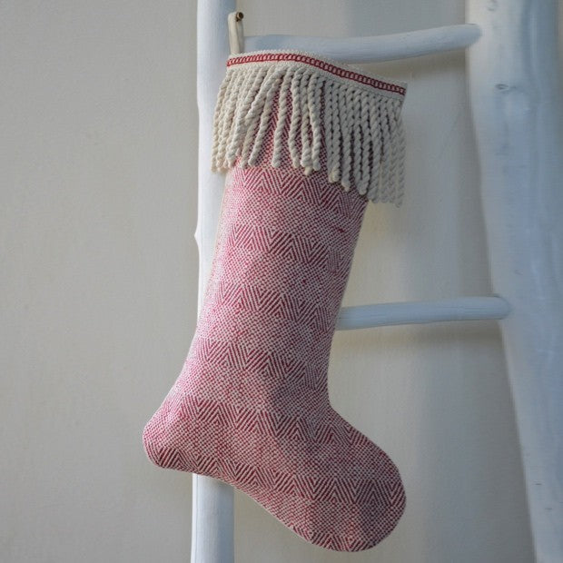 Cotton stocking with fringe - e.t. tobey company