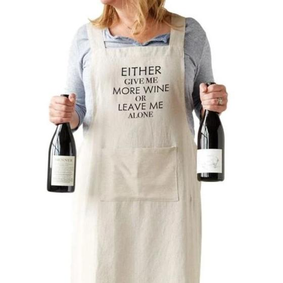 Give me Wine Apron