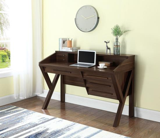 Writing Desk with Outlets