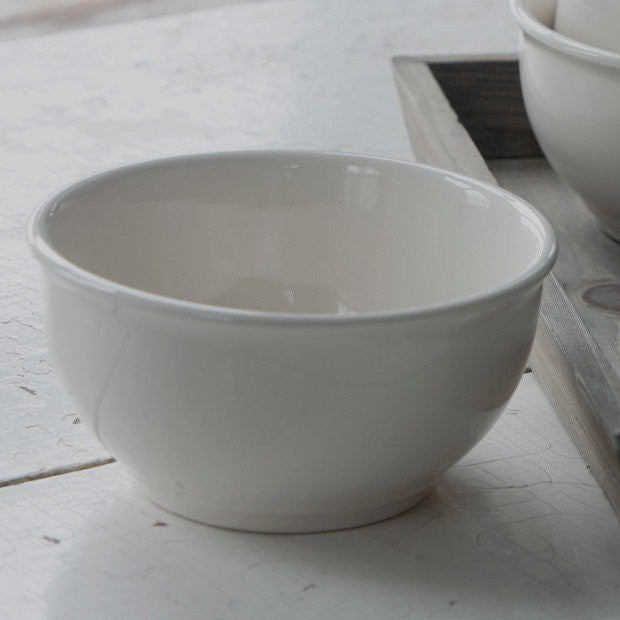 Creamware Ice Cream Bowl