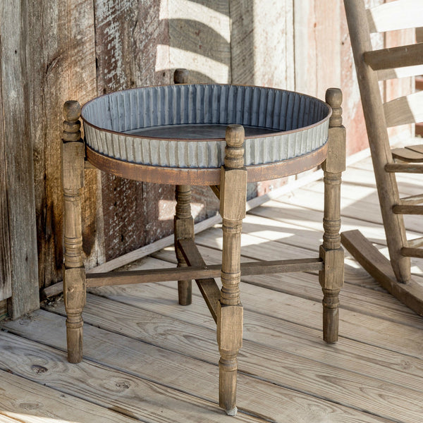 Cottage Side Table - modern farmhouse