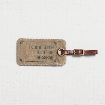 Travel Addict Luggage Tag