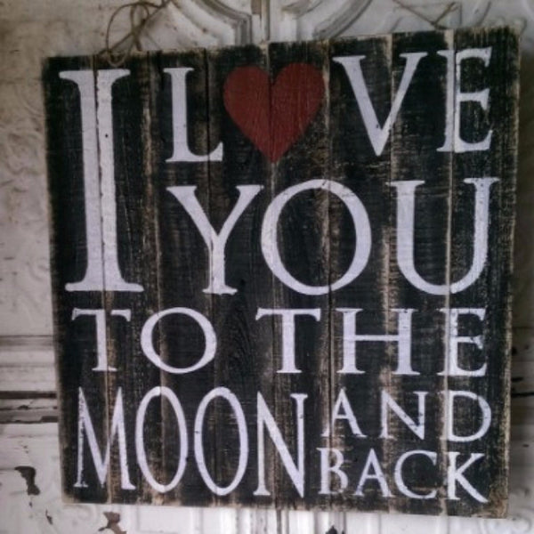 Moon & Back plaque - E.T. Tobey Company
