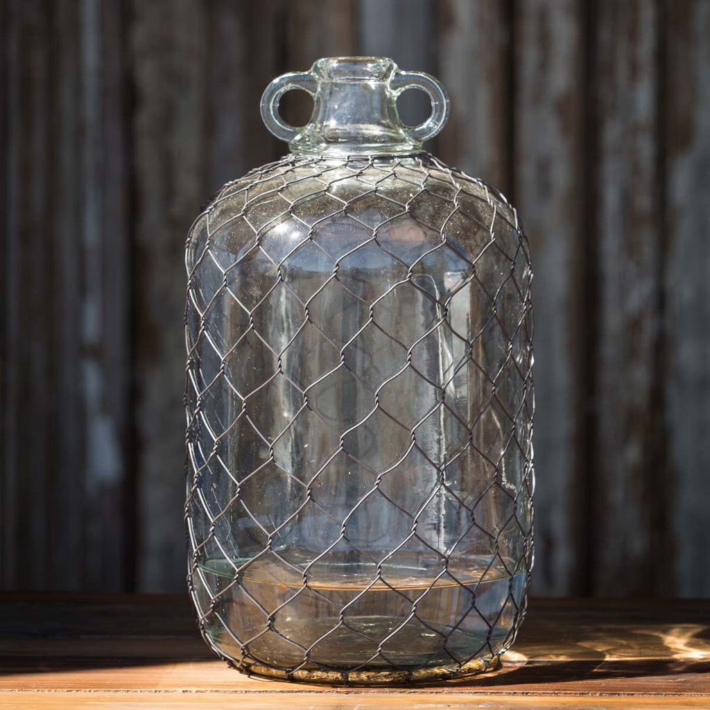 Moonshine Jug With Poultry