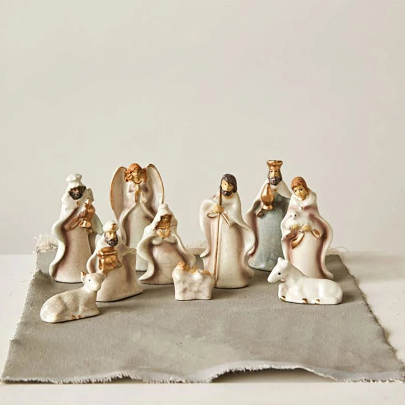 Crackled Nativity