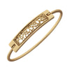Filigree Bar Latch Bracelet - E.T. Tobey Company - Canvas