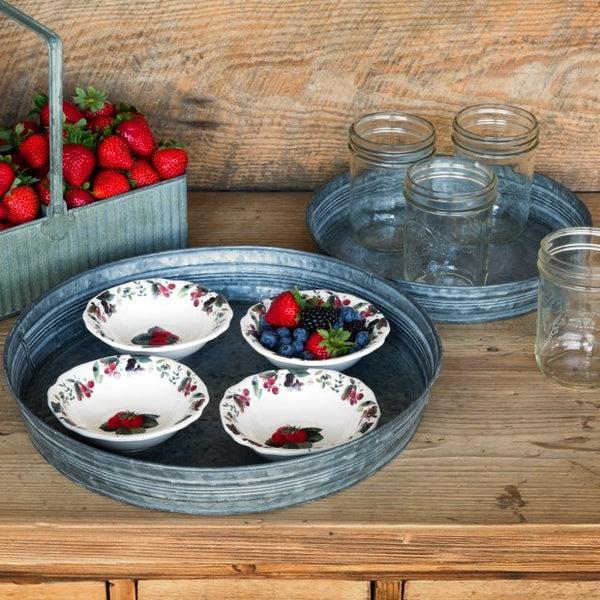 Round Florist Serving Trays