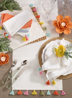 Fiesta Tassel Table Runner