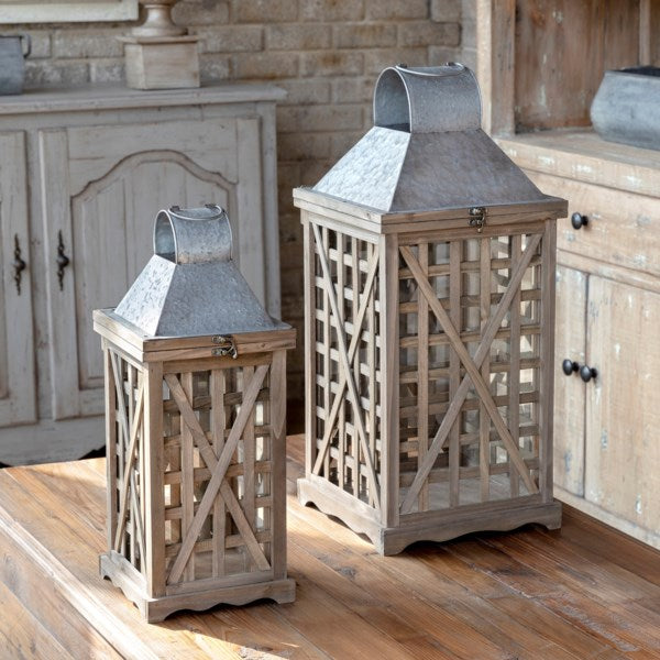 Tobacco Barn Lanterns