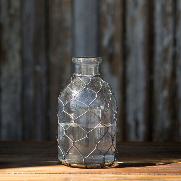 Tonic Bottle With Poultry Wire