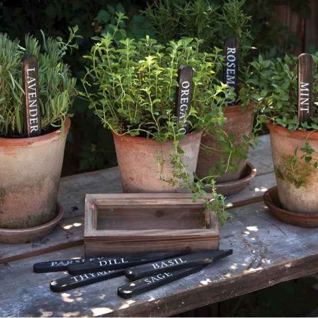 Wooden Herb Plant Stakes - E.T. Tobey Company