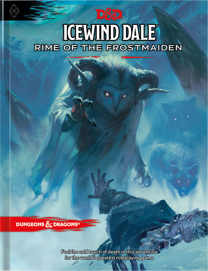 D&D RPG: Icewind Dale - Rime of the Frostmaiden Hard Cover