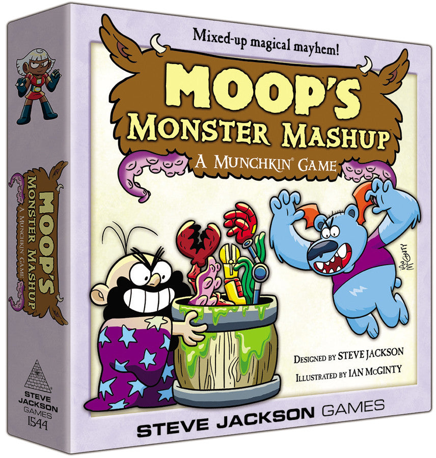 Munchkin: Moop`s Monster Mashup Deluxe (stand alone and expansion)