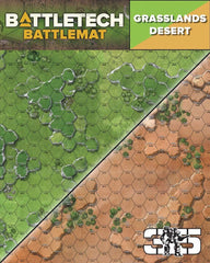 BattleTech: Battle Mat - Grasslands Desert