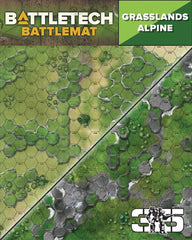 BattleTech: Battle Mat - Grasslands Alpine