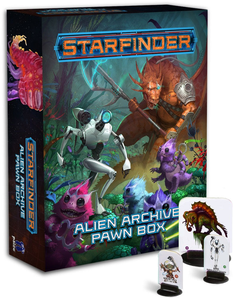 Starfinder RPG: Pawns - Alien Archive Pawn Box