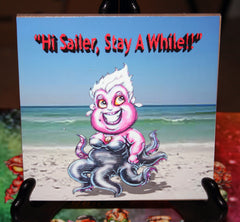 Hi Sailer Ursula Custom Art Print Tile