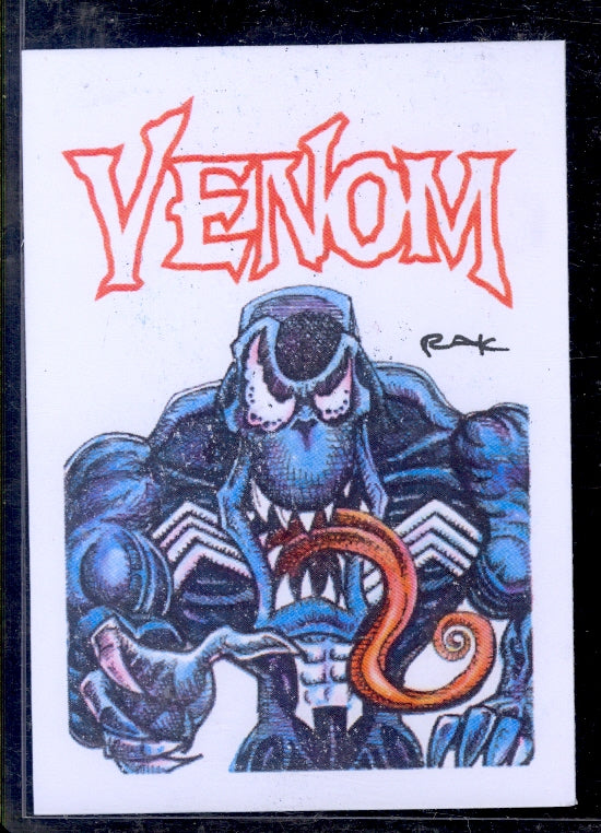 "Venom 1 ""Trading Card Art"" by RAK"