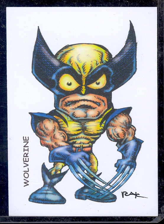 "Wolverine 3 ""Trading Card Art"" by RAK"