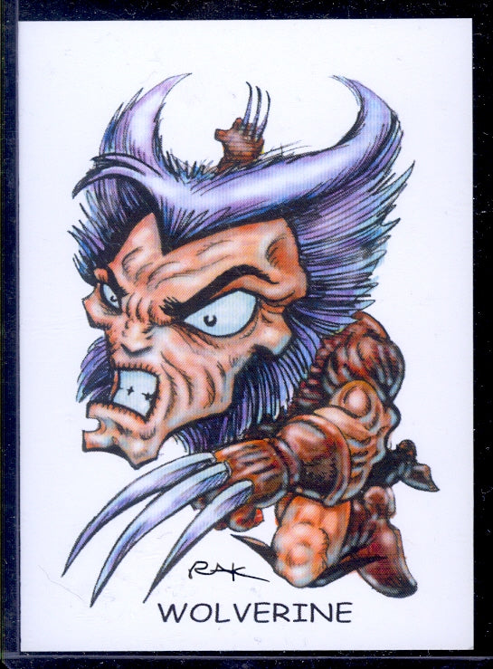 "Wolverine 1 ""Trading Card Art"" by RAK"