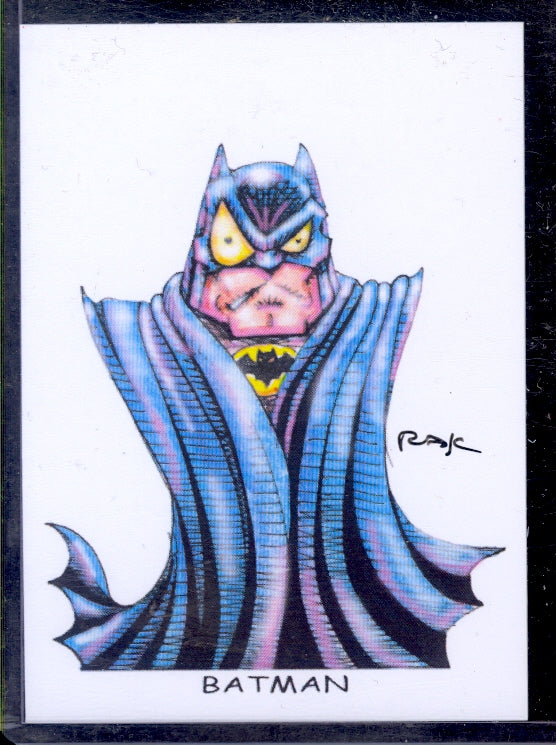 "Batman 5 ""Trading Card Art"" by RAK"