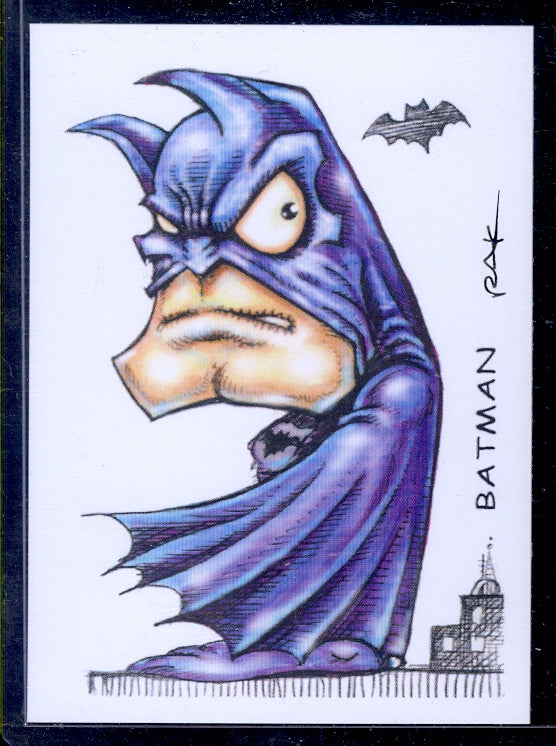 "Batman 4 ""Trading Card Art"" by RAK"