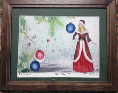 Mrs Claus #1 Framed S/N Print