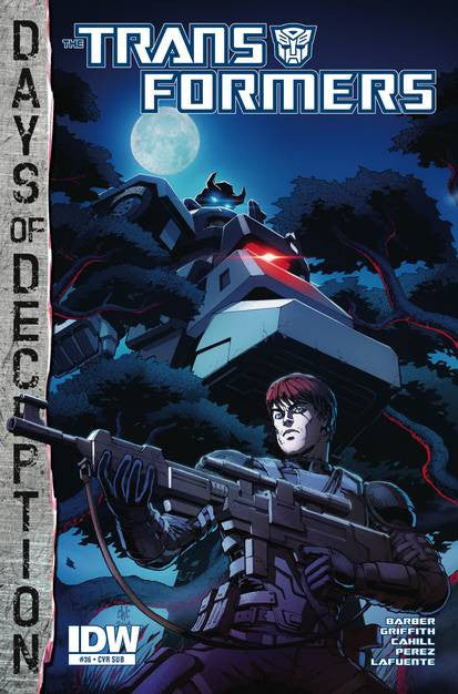 Transformers #36 Days Of Deception Subs. Var VF/NM