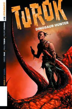 Turok Dinosaur Hunter #12 Cvr B Lee Exc Subs. Var VF/NM