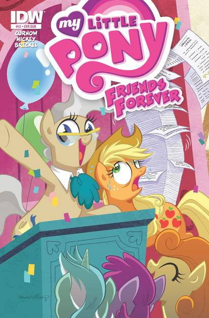 My Little Pony Friends Forever #15 Subs. Variant VF/NM