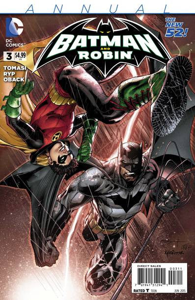 Batman and Robin Annual #3 VF/NM