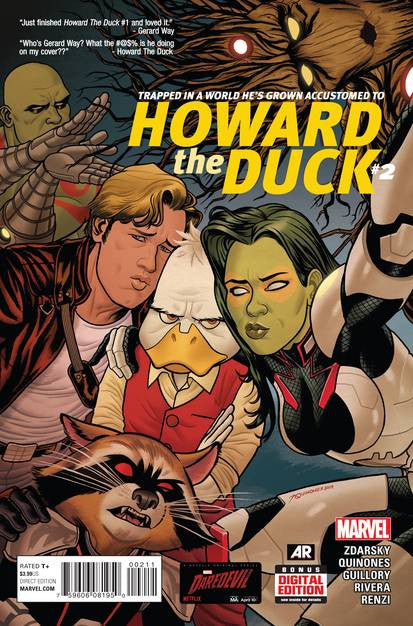 Howard The Duck #2 VF/NM