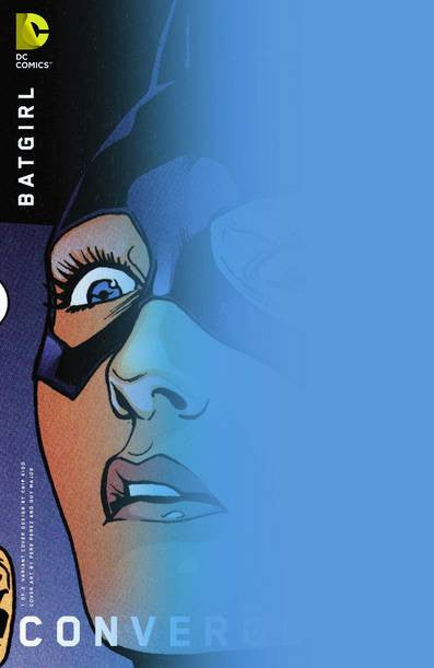 Convergence Batgirl #1 of 2 Chip Kidd Var. Ed. VF/NM