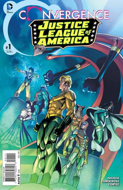 Convergence Justice League of America #1 of 2 VF/NM
