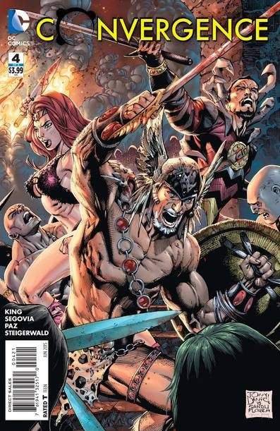 Convergence #4 (of 8) Tony S. Daniel Var Ed  VF/NM