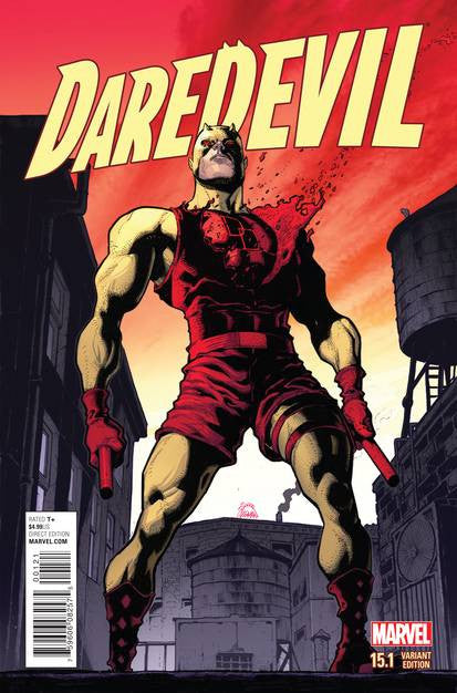 Daredevil 15.1 Stegman Var VF/NM