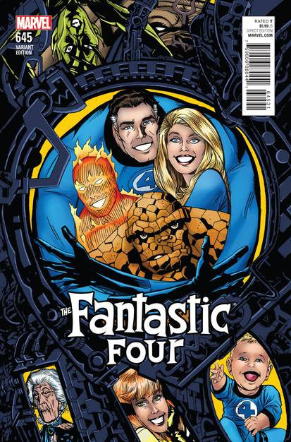 Fantastic Four #645 Golden Connecting Var VF/NM