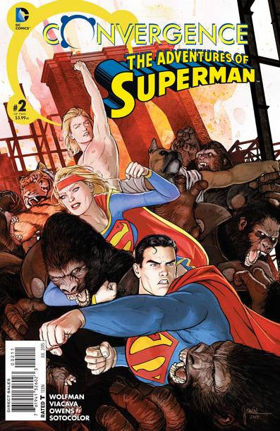 Convergence Adventures Of Superman #2 (of 2) VF/NM