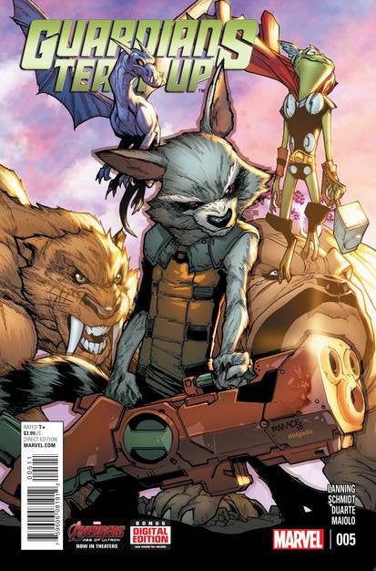 Guardians Team Up #5 VF/NM