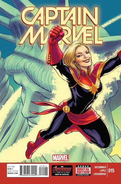 Captain Marvel #15 VF/NM
