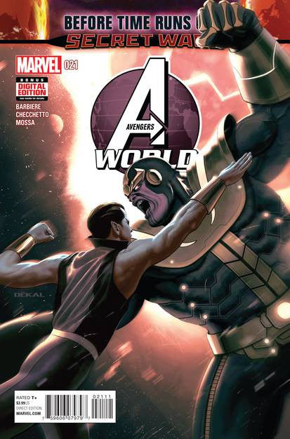 Avengers World #21 VF/NM