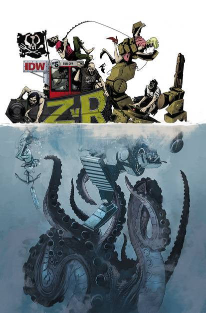 Zombies Vs. Robots #5 Subs. Variant VF/NM