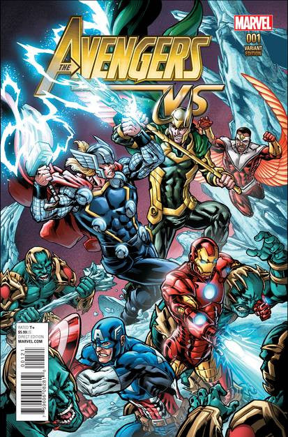 Avengers VS #1 Ryan Var VF/NM