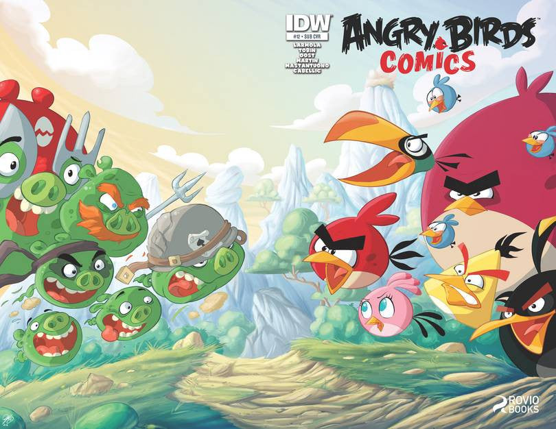 Angry Birds Comics #12 Subs Var VF/NM