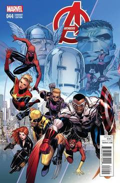Avengers #44 Cheung End Of An Era Var VF/NM