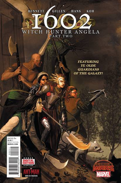 1602 Witch Hunter Angela #2 SWA VF/VM